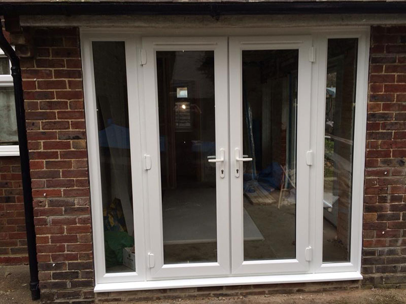 Bifold and patio doors leydene glass glazing for Patio door companies