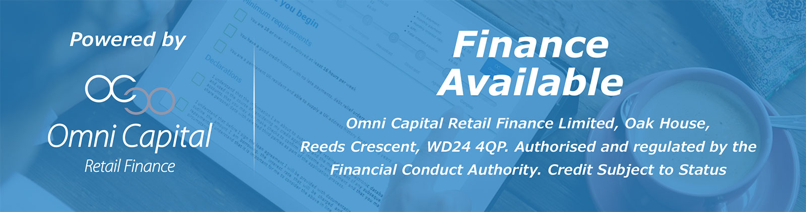 OC Finance now available